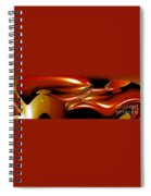 Cosmic Fish Spiral Notebook