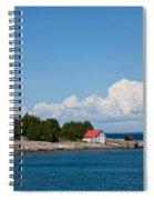 Cove Island Lighthouse Spiral Notebook