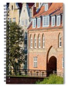 Cow Gate In Gdansk Spiral Notebook