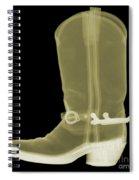 Cowboy Boot X-ray Spiral Notebook