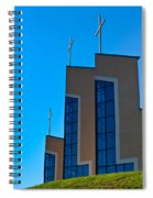 Crosses Of Livingway Church Spiral Notebook