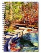 Cunningham Falls Walkway Spiral Notebook