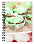Cup Cakes Spiral Notebook
