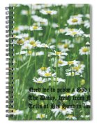 Daisy Fresh Spiral Notebook