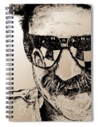 Dale Earnhardt Sr In 1995 Spiral Notebook