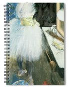 Dancer In Her Dressing Room Spiral Notebook