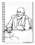 Daniel De Leon (1852-1914) Spiral Notebook