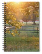 Day Is Done Spiral Notebook