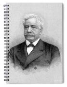 De Lesseps, French Diplomat, Suez Canal Spiral Notebook