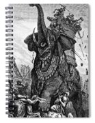 Death Of Eleazar Spiral Notebook