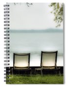 Deck Chairs Spiral Notebook