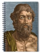 Demosthenes, Ancient Greek Orator Spiral Notebook
