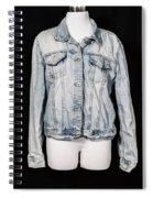 Denim Jacket Spiral Notebook