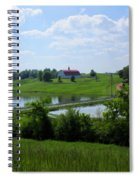Down On The Farm Spiral Notebook
