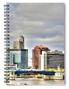 Downtown Toledo Riverfront Spiral Notebook