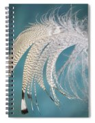 Droopy Feather Spiral Notebook