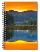 Dry Lagoon Dawn Spiral Notebook