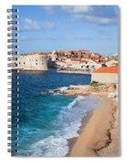 Dubrovnik Scenery Spiral Notebook