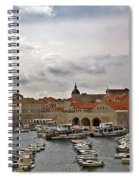 Dubrovnik View 5 Spiral Notebook