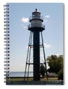 Duluth Mn Lighthouse Spiral Notebook
