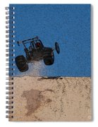 Dune Buggy Jump Spiral Notebook