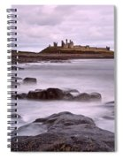 Dunstanburgh Castle Spiral Notebook