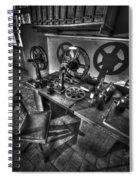 Editors Seat Spiral Notebook