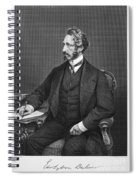 Edward Bulwer Lytton Spiral Notebook