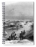 Egypt: Nile Scene Spiral Notebook
