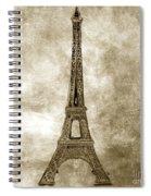 Eiffel Tower. Paris Spiral Notebook