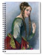 Eleanor Of Aquitaine Spiral Notebook