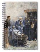 Electrocution, 1890 Spiral Notebook
