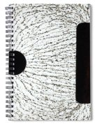 Electrostatic Field Lines Unlike Charges Spiral Notebook