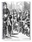 Elementary School, 1873 Spiral Notebook