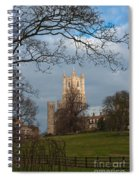 Ely Cathedral In City Of Ely Spiral Notebook