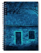 Enchanted Moonlight Cottage Spiral Notebook
