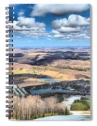 Endless Mountains Spiral Notebook
