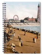 England: Blackpool, C1900 Spiral Notebook