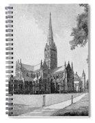 England: Salisbury Spiral Notebook