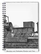 English Locomotive, 1825 Spiral Notebook