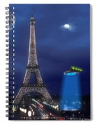 European Time Traveler Spiral Notebook