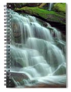 Evening At The Falls Spiral Notebook
