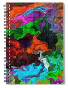Experiment In Dementia Spiral Notebook