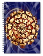 Exploding Clock Spiral Notebook