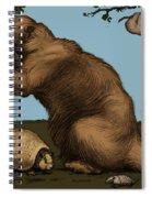 Extinct Fauna Spiral Notebook