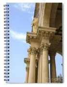 facade of Church of all Nations Jerusalem Spiral Notebook