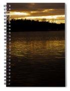 Fall Sunset Spiral Notebook