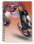 Fan Dance Spiral Notebook