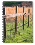 Fence Perspective Spiral Notebook