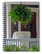 Fern On Front Porch Spiral Notebook